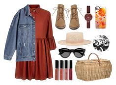 """""""#applepicking"""" by glamfashioner ❤ liked on Polyvore featuring Mela Loves London, Steve Madden, Bobbi Brown Cosmetics, Bloomingville, Skagen, Casetify, Janessa Leone and Givenchy"""