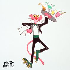 at your service! Pink Panther, September 2016