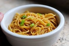 Pioneer Woman - Simple Sesame Noodles. My friend Chelsea says they're delicious  - and that they're even better on day 2.