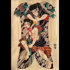 #彫煙 #bodysuit  #japonesetattooart #bestirezumi #japanesecollective #reclaimthedots #japanesetattoobrasil #irezumicollective