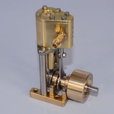 Mini Steam Engine, Steam Motor, Stirling Engine, Live Model, Small Engine, Science And Technology, Door Handles, Hobbies, Engineering