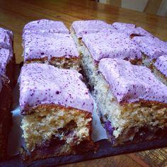 Blueberry and Cherry Cake www.judithglue.com