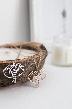 Elephant Necklaces, Gold Plated 26 euros each. We ship worldwide Elephant Necklace, Cuff Bracelets, Jewlery, Plating, Symbols, Necklaces, Ship, Gold, Handmade