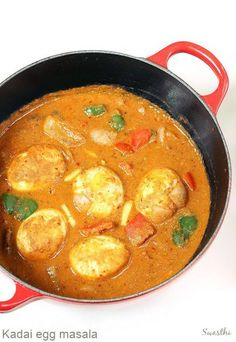 Egg recipes - Collection of 52 anda recipes - Swasthi's Recipes Paneer Recipes, Curry Recipes, Veggie Recipes, Cooking Recipes, Cooking Eggs, Healthy Recipes, Capsicum Curry Recipe, Capsicum Recipes, Egg Recipes Indian