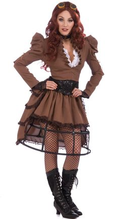 Steampunk Vicky Adult Costume from BuyCostumes.com