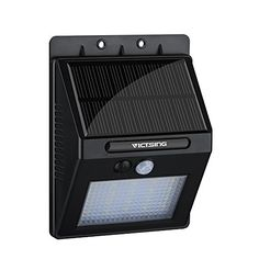 VicTsing Waterproof Wireless 20 LED Solar Motion Sensor Wall Light *** Check out the image by visiting the link.