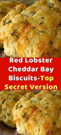 Red Lobster Cheddar Bay Biscuits-Top Secret Version This is a good recipe, but m… – Spicial Sea Food Lobster Recipes, Seafood Recipes, Gourmet Recipes, Cooking Recipes, Lobster Appetizers, Copycat Recipes, Drink Recipes, Pasta Recipes, Bread Recipes