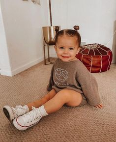 Cute Baby Girl Outfits, Cute Outfits For Kids, Cute Baby Clothes, Toddler Outfits, Cute Kids, Cute Babies, Baby Kids, Cute Toddlers, 2 Kind