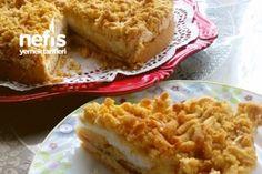 Merengli Elmalı Tart Tarifi Turkish Recipes, Ethnic Recipes, Turkish Delight, Pavlova, Bon Appetit, Macaroni And Cheese, Pasta, Desserts, Food