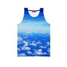☮♡ Clouds Tank ✞☆