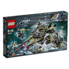 LEGO Ultra Agents Hurricane Heist (70164) by tormentalous, via Flickr
