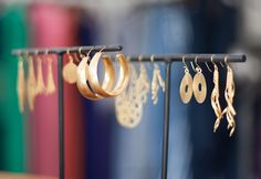 Gold Sands earrings collection