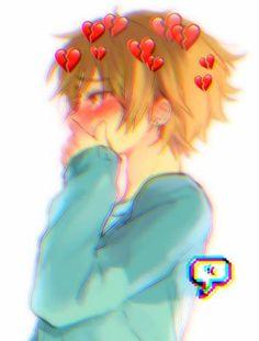 Credits to the owner ; Kawaii Anime Girl, Anime Art Girl, Manga Art, Manga Anime, Sad Anime, Anime Love, Fanarts Anime, Anime Characters, Anime Style