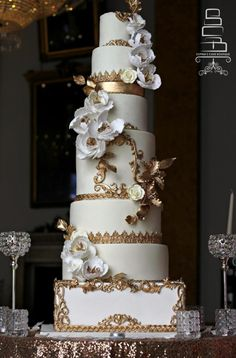 Ivory & Gold by Sophia's Cake Boutique