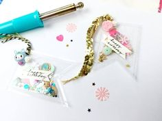 Up Close and Personal ~ Fuse Tool ~ DIY Embellishments/Gift Tags + + + Inkie Quill - YouTube