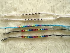 Friendship Bracelet Hand-Braided bracelet by OneOfferJewelry