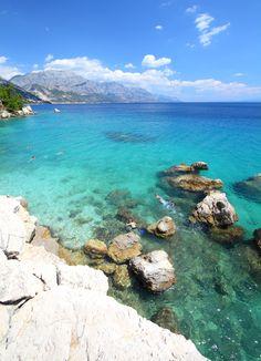 Croatia vacation – Marusici beach of Adriatic Sea