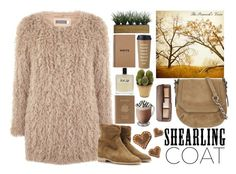 """Sherling Coat"" by fra3 ❤ liked on Polyvore featuring Mint Velvet, Laura Ashley, Isabel Marant, Olfactive Studio, Kate Spade, Royce Leather, Pottery Barn, Nearly Natural, rag & bone and Hourglass Cosmetics"