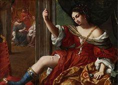 Elisabetta Sirani - Porzia che si ferisce alla coscia, 1664