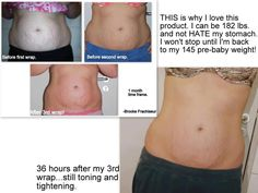 How would you like to love your stomach long before you reach your goal weight? Click to learn more. #health #fitness #weightloss Become a loyal customer and get a box of 4 for only $59    www.WorkMyWrap.com