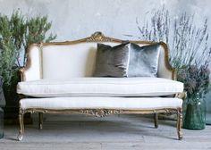 French sofa via Classical Addiction