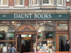 Daunt Books, 83 Marylebone High Street, Marylebone; Tel: +44 (0)20 7224 2295, http://www.dauntbooks.co.uk.    Daunt Books has an impressive six locations throughout London.
