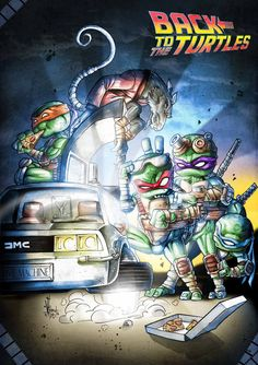 Back to the TMNT by Vinz-el-Tabanas.deviantart.com on @deviantART