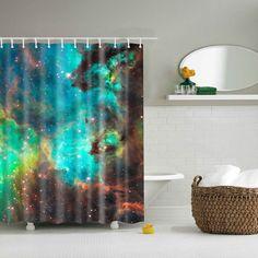 Bathroom Decor Mildewproof Waterproof Shower Curtain