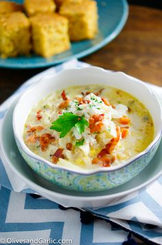 Corn Crab Chowder with Bacon | food wine thyme