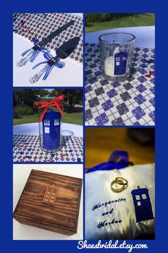 Hey, I found this really awesome Etsy listing at https://www.etsy.com/listing/200215070/doctor-who-tardis-companion-wedding