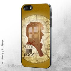 Dr Who Sherlock iPhone 4 4S 5 5S 5C 6 iPod Touch 4 5 Samsung Galaxy S5 S4 S3 Case Galaxy Note 3 Case
