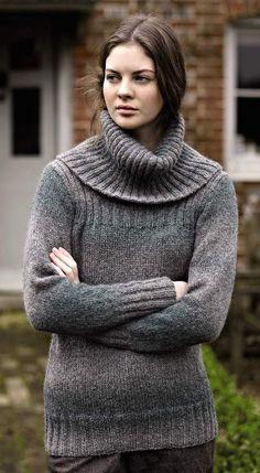 Rowan Ashbourne Sweater Kit http://yarniverse.corecommerce.com/Kits/Rowan-Ashbourne-Sweater-Kit.html