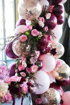 Balloon Garland, Balloon Decorations, Birthday Decorations, Balloons, Wedding Decorations, 16th Birthday, Birthday Bash, Birthday Party Themes, Before Wedding
