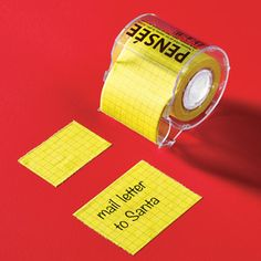 Memo Sticky Roll - Oh my goodness...so fantastic!! I love sticky notes!!!