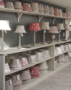 Lamps stand out against our Charcoal paint
