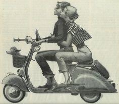 Enjoy ride w/ your Scoot&Sweety