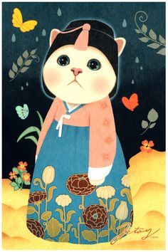 Jetoy Jumbo Art Print Card: Chima