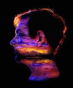 Bodyscapes, Stunning New Blacklight Body Art by Artist John Poppleton