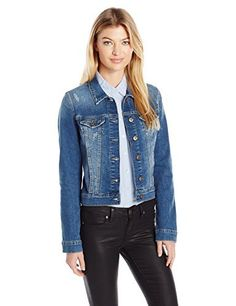 """A faded-blue wash kicks up the laid-back cool of an essential denim jacket in a cropped silhouette.       Famous Words of Inspiration...""""If you go on with this nuclear arms race, all you are going to do is make the rubble bounce.""""   Winston...  More details at https://jackets-lovers.bestselleroutlets.com/ladies-coats-jackets-vests/denim-jackets/product-review-for-mavi-womens-samantha-cropped-denim-jacket/"""