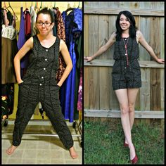 Refashionista i'll change the way you think about fashion. Thrift Store Outfits, Thrift Store Fashion, Thrift Clothes, Diy Clothes Refashion, Diy Clothing, Sewing Clothes, Sweater Refashion, Refashioning Clothes, Upcycling Clothing