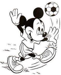 soccer mickey