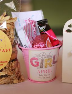 Baby Shower Decorations for Girls | Baby Shower Favors - April Golightly