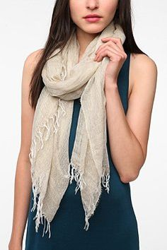 Pins and Needles Shimmer Scarf