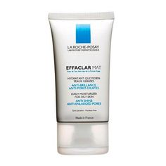 Best Moisturizer for Oily Skin: La Roche-Posay Effaclar Mat. Oily skin comes with two gripes -- too much shine and enlarged pores. This lotion makes pores look smaller and leaves a matte finish.