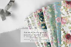 Watercolor Artwork, Watercolor Pattern, Floral Watercolor, Watercolor Design, Linux, Diy Design, Floral Design, Design Ideas, Scrapbooking