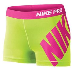 Nike Pro Compression Shorts - Women's from Foot Locker. Shop more products from Foot Locker on Wanelo. Nike Compression Shorts, Nike Pro Spandex, Nike Pro Shorts, Spandex Shorts, Gym Shorts Womens, Sport Shorts, Cheer Outfits, Nike Outfits, Sport Outfits