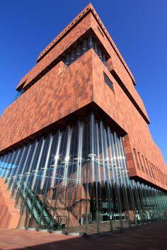 Museum aan de Stroom, Neutelings Riedijk Architects, Antwerp