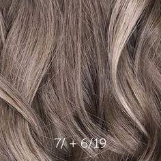 Ash Brown Hair Balayage, Gray Hair Highlights, Ash Brown Hair Color, Light Brown Hair, Balayage Hair, Blonde Hair Paint, Ash Blonde Hair, Toner For Brown Hair, Wella Illumina Color
