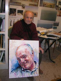 Spanish  hiper realist painter Antonio Lopez