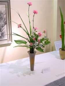 small pink carnations